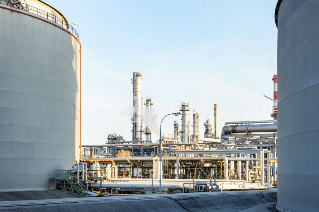 Industrielle Fabrik